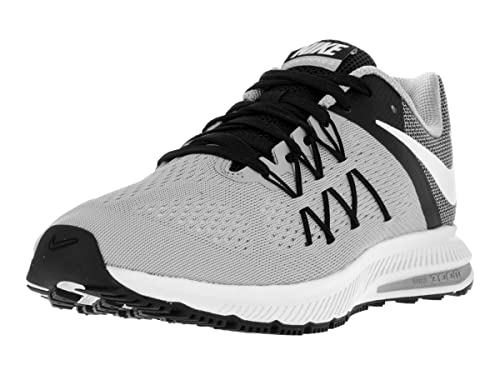 Nike Men s Zoom Winflo 3 Wolf Grey White Black Running Shoe 9. 5 Men US   Buy Online at Low Prices in India - Amazon.in 1300475ae