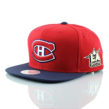 3098e24fdb9 Mitchell   Ness Montreal Canadiens 2017 NHL All-Star Game Snapback ...