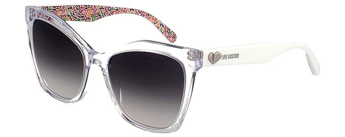 Love Moschino MOL002/S Gafas de sol, Transparente (Crystal ...