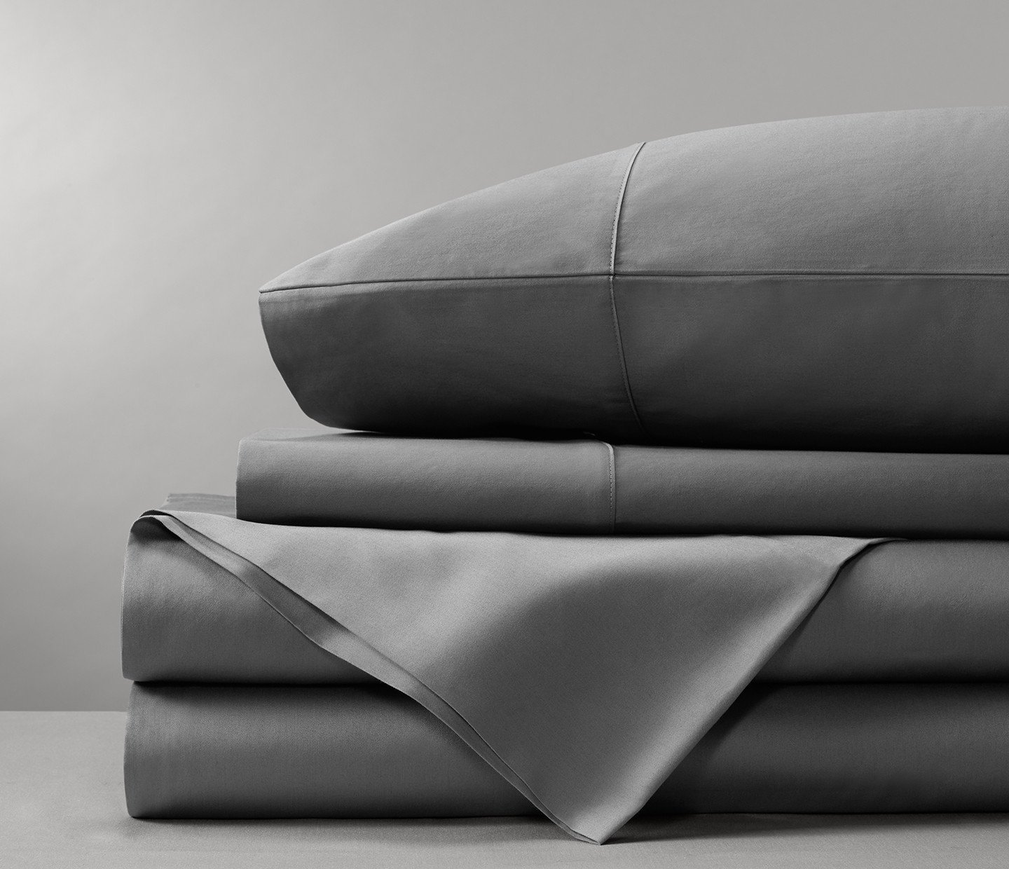 Bamboo Sheets by Bamboo Tranquility - Supreme Quality 4 Piece Bamboo Bed Sheets Set (Queen, Grey)