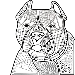 Animal Colouring Book For Adults Raining Cats And Dogs Beautiful