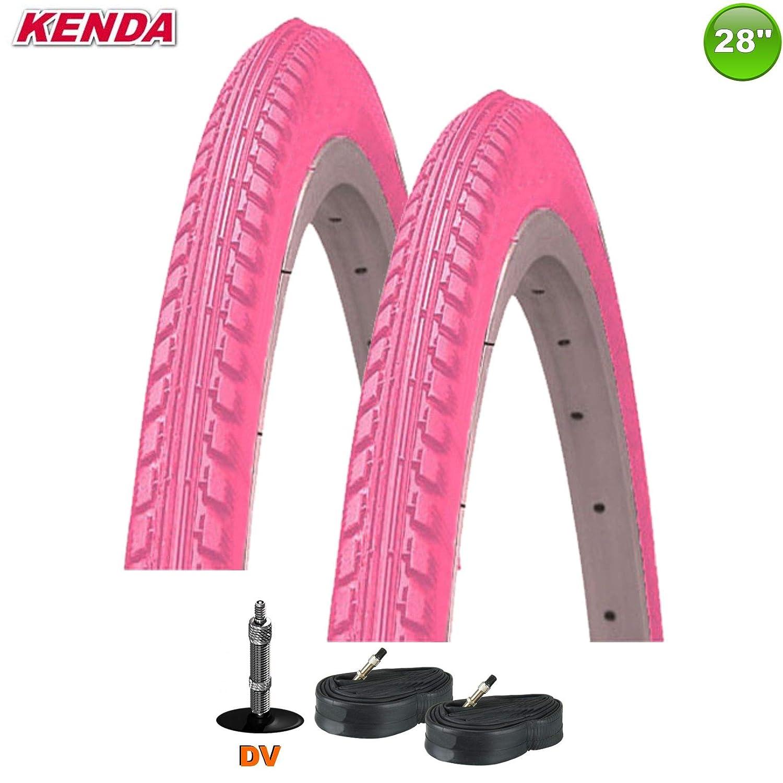 Kenda K-142 - Cubiertas para Bicicleta sin Reflex (2 Unidades, 28 ...