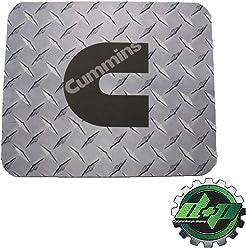 c42331a9aa21b Diesel Power Plus Cummins Diamond Plate Mouse Pad 7.5 inch x 9 inch  Computer Gray Truck