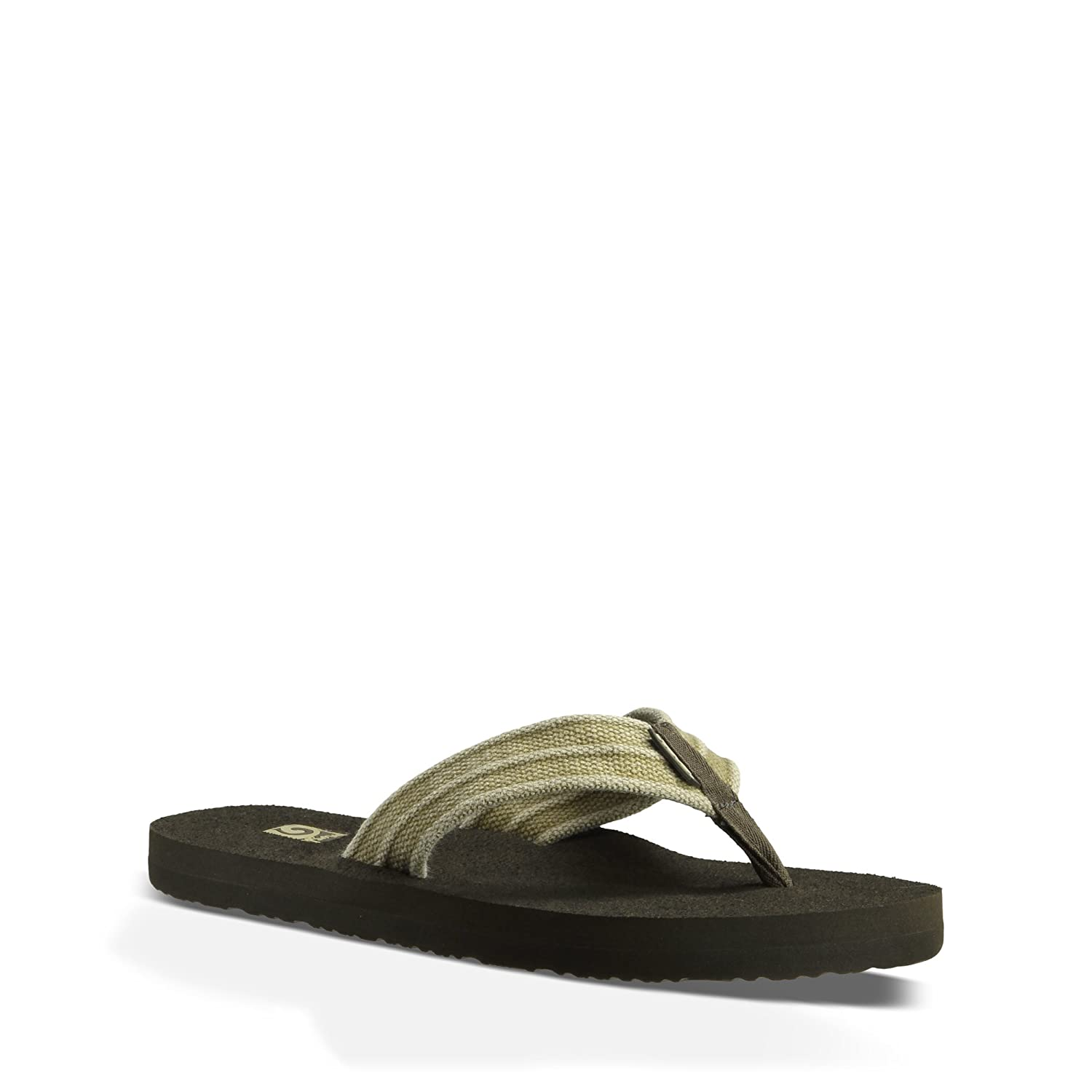30a16a570b06d Teva Men s Mush II Canvas Flip-Flop  Buy Online at Low Prices in India -  Amazon.in