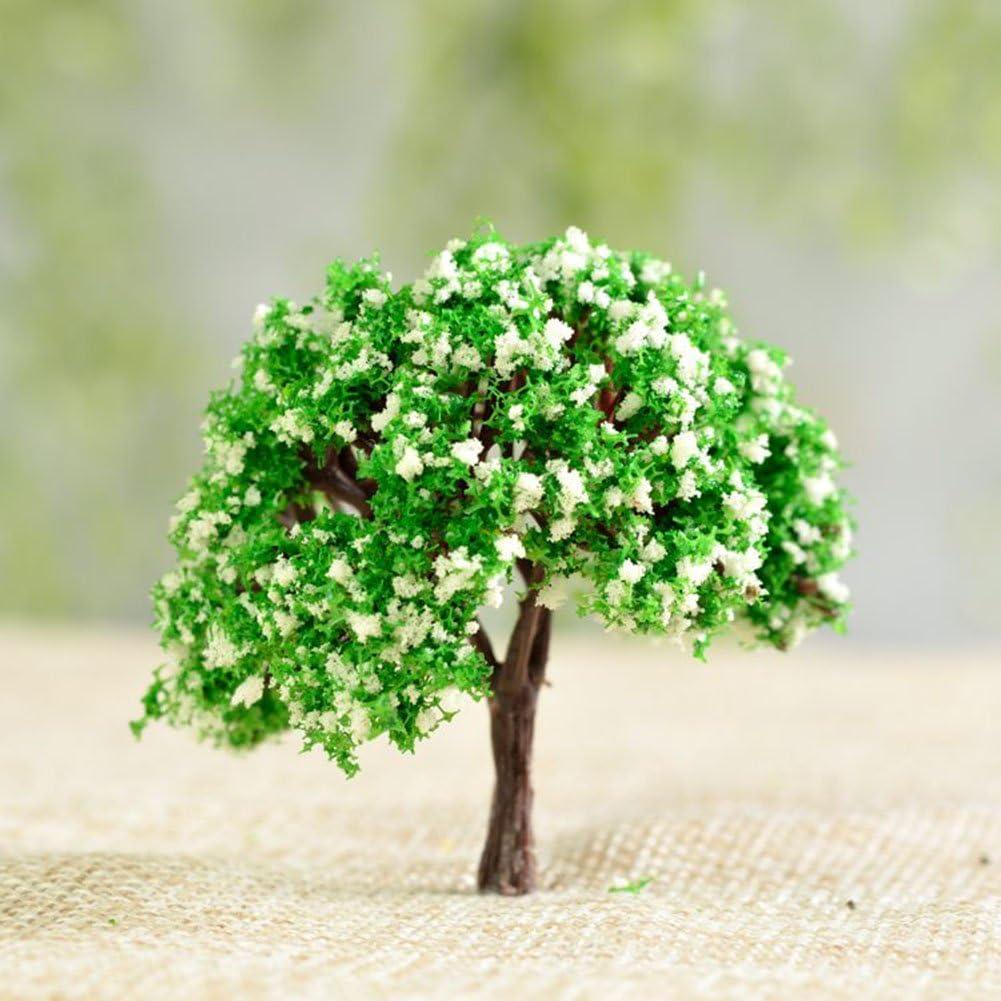 Miniature Artificial Flowers Vegetation Micro Landscape Bonsai Garden Decoration