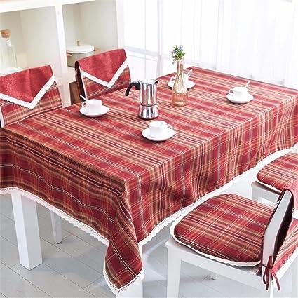Amazon.com: FLYRCX Rectangular minimalist modern living room plaid ...