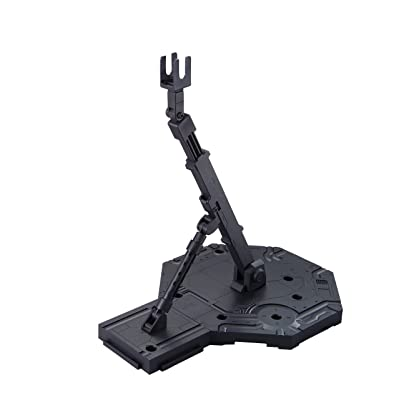 Bandai Hobby Action Base 1 Display Stand (1/100 Scale), Black (BAN148215): Toys & Games