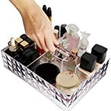 Lifewit Makeup Organiser Premium Quality Acrylic Cosmetic Storage Lipstick Case Palette Holder Large Capacity With Handle