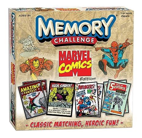 Amazon.com: Marvel Comics Memory: Toys & Games