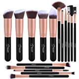BESTOPE Makeup Brush Set 16PCs Premium Cosmetic Brushes With Super Velvety Synthetic Hair Kabuki Foundation Blush Eyeshadow Liner Powder Blend Concealer Face Complexion Beauty Tools