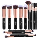 Amazon Price History for:BESTOPE Makeup Brushes 16 PCs Makeup Brush Set Premium Synthetic Foundation Brush Blending Face Powder Blush Concealers Eye Shadows Make Up Brushes Kit (Rose Golden)