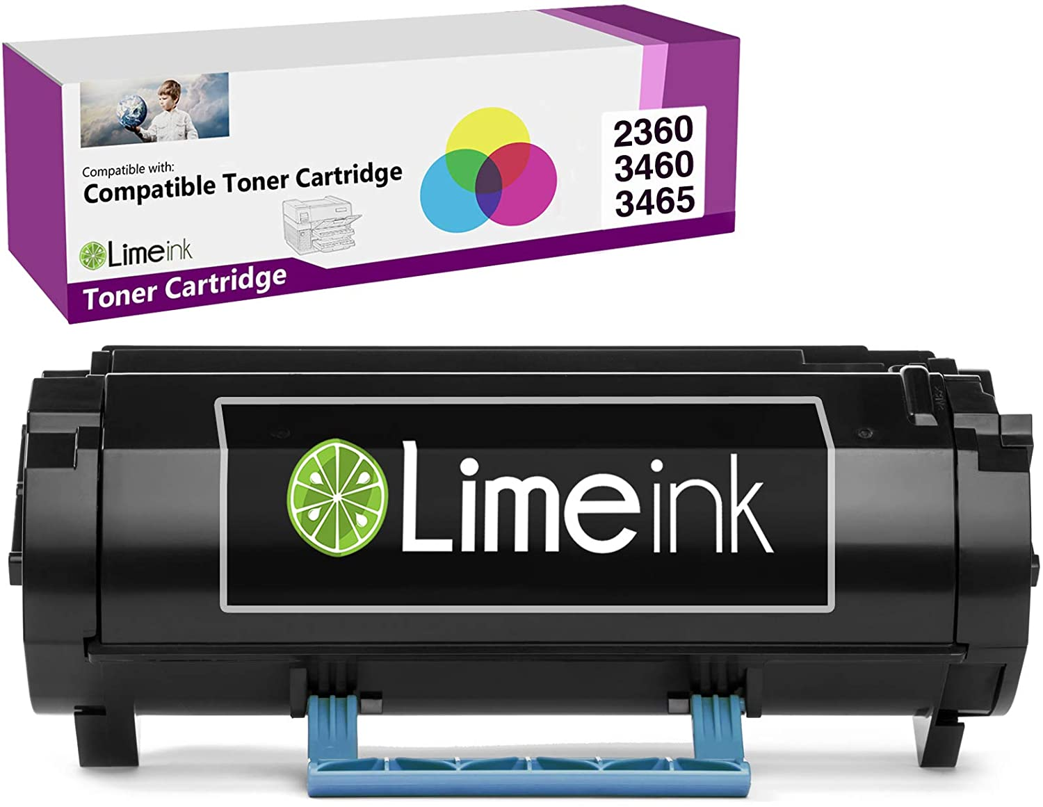 Limeink Black Remanufactured M11XH 331-9805 High Yield Laser Toner Cartridge Compatible for Dell B2360 B3460 B3465 B2360d B2360dn B3460dn B3465dn B3465dnf 2360dn 2360d 3460dn 2360 3460 3465 Printers