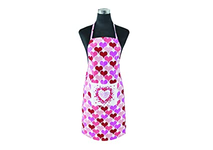 APRON-100% Pure Cotton Womens Apron Waterproof Material