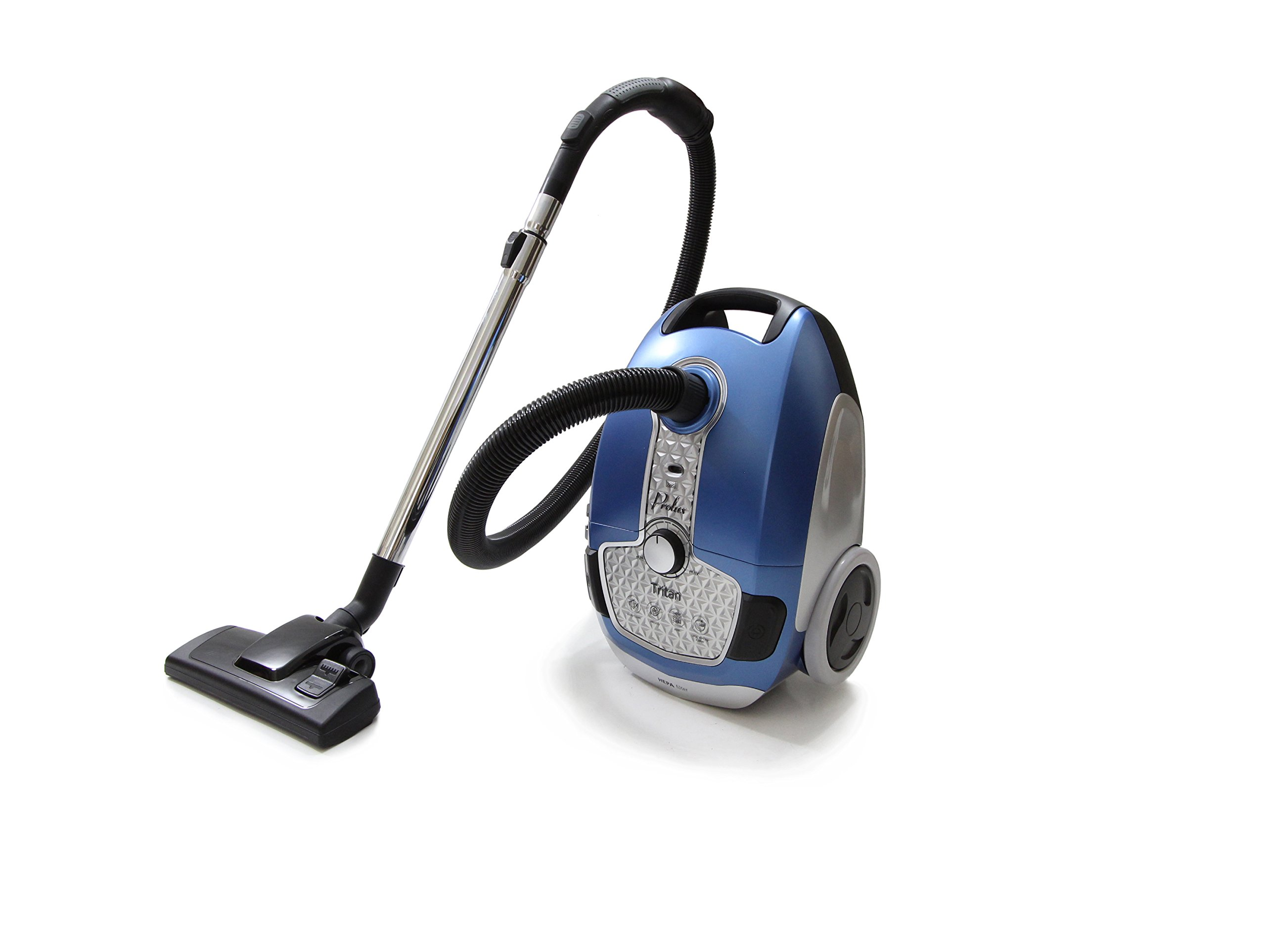 Prolux Tritan Canister Vacuum HEPA Sealed Hard Floor Vacuum with Powerful 12 Amp Motor product image