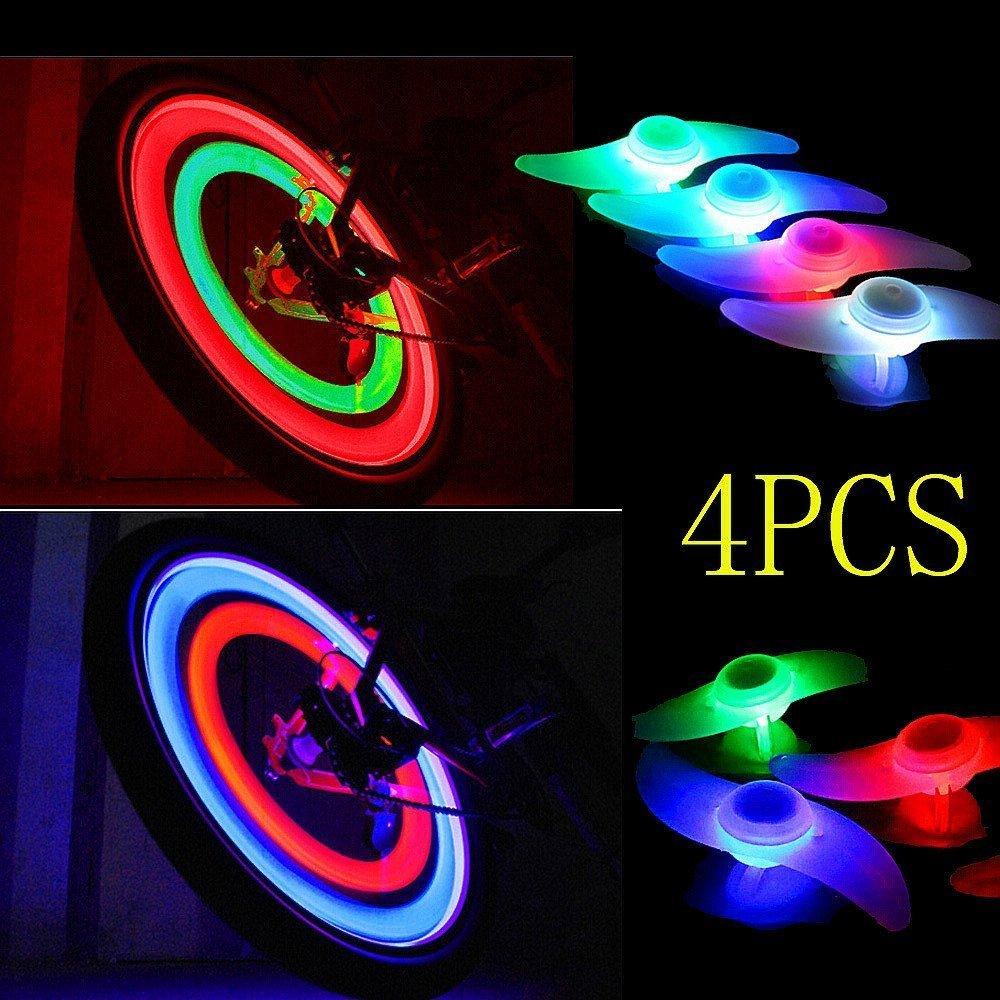 4 Fahrrad Rad Speichen Reifen Reifen Draht LED Neon Licht Lampe ...