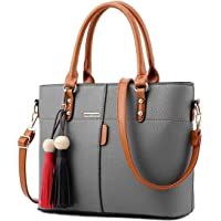 Womens PU Tote Bags, oteawe Women Purses and Handbags Casual Crossbody Shoulder
