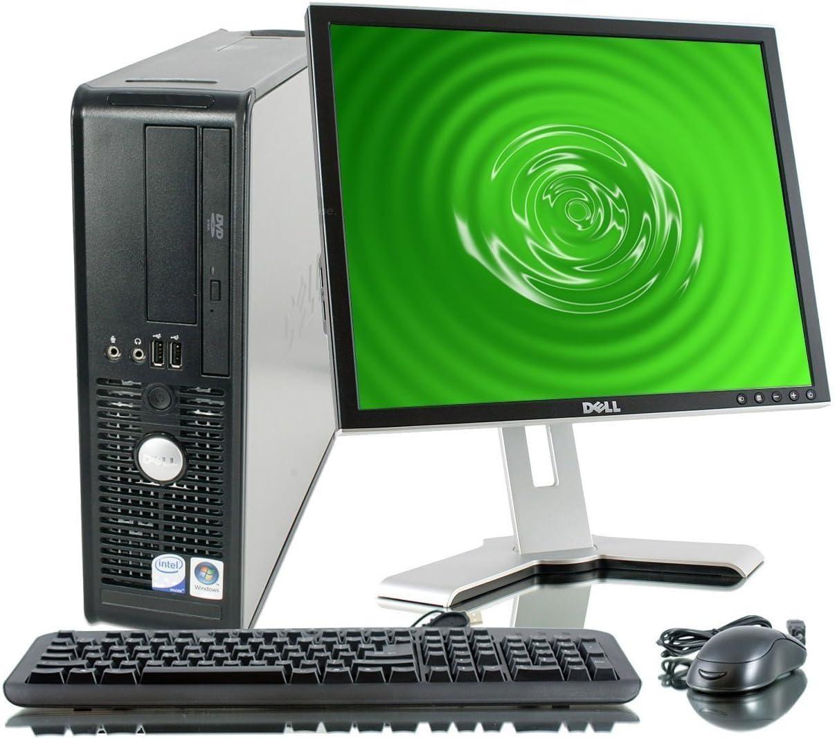 Dell Optiplex Desktop 2.93 GHz Intel Core 2 Duo Processor, New 8GB RAM DDR2, 250GB , Windows 10 Professional x64, 19in LCD Monitor (brands vary) - (Renewed)