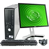 "Dell OptiPlex Desktop Complete Computer Package with Windows 10 Home - Keyboard, Mouse, 17"" LCD Monitor(brands may vary…"