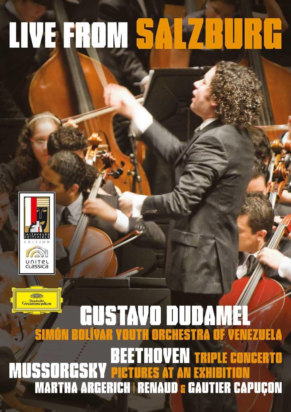 Gustavo Dudamel: Live from Salzburg - Beethoven/Mussorgsky by Deutsche Grammophon