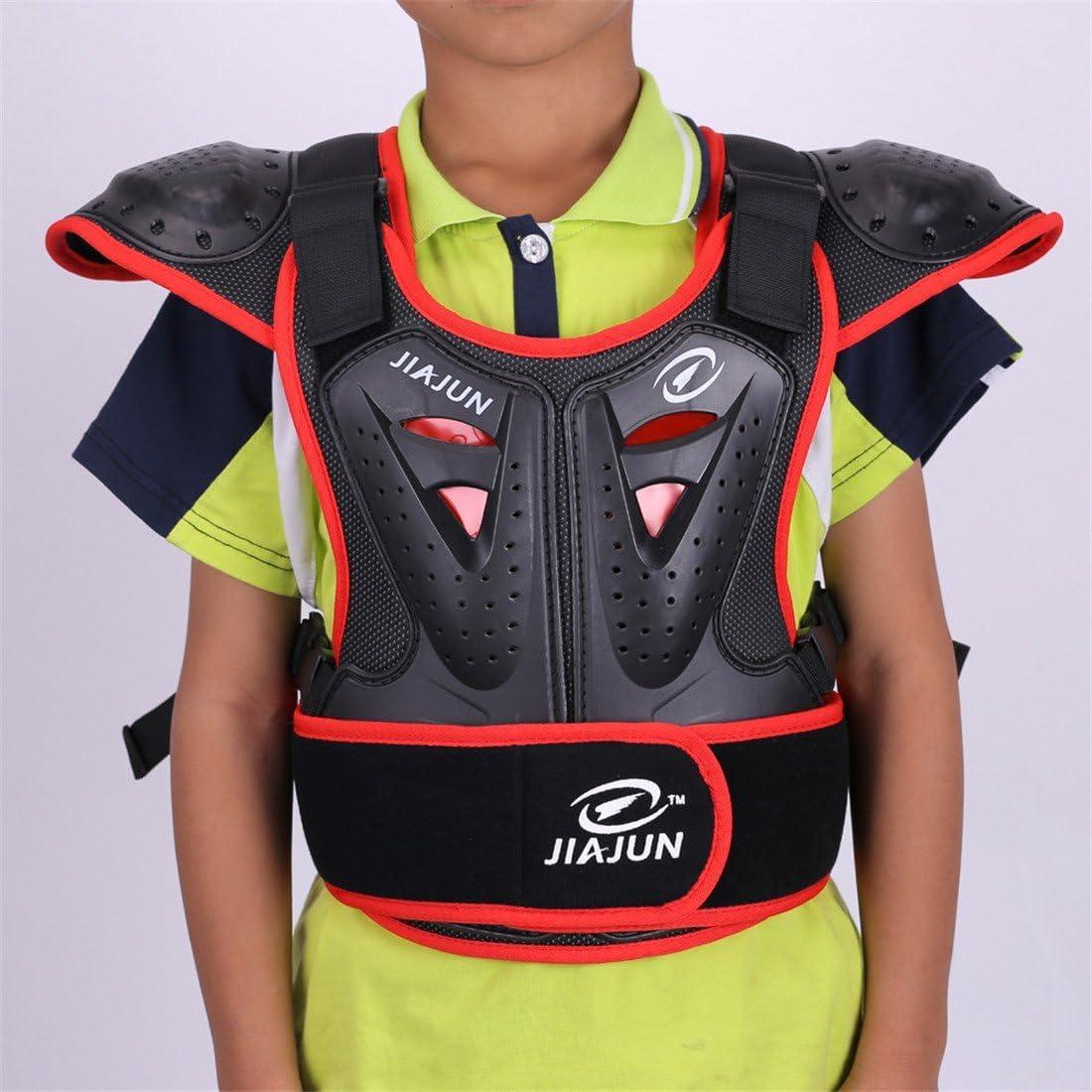 Akaufeng Motorrad Protektorenjacke Kinder Ärmellos Protektorenhemd Motorrad S Xl Mtb Protektoren Schutzkleidung Schutzweste Bekleidung