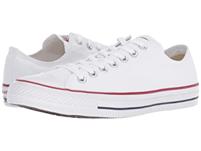 626aa6841900fd Image Unavailable. Image not available for. Color  Converse Unisex Chuck  Taylor All Star Low Top Optical White 7 ...