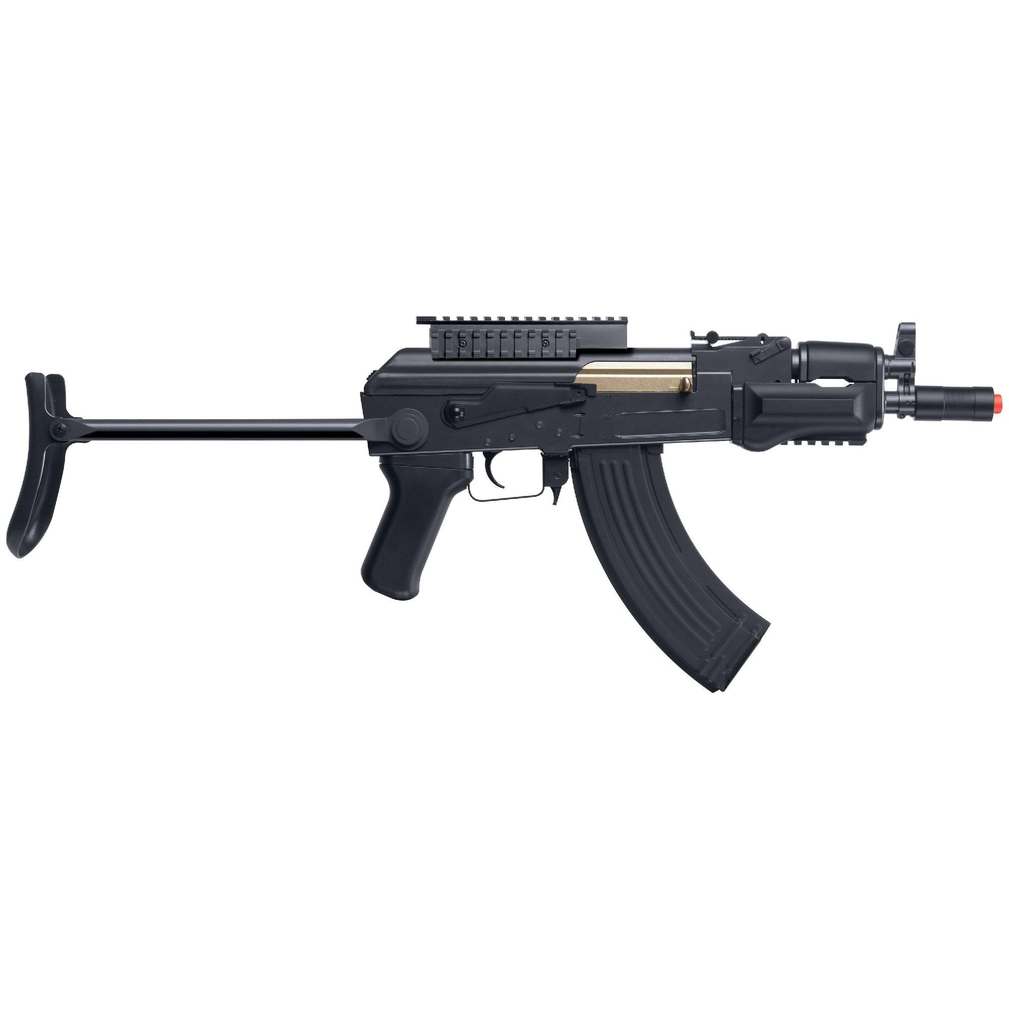 Game Face GF76 Carbine Airsoft Rifle, Black by Game Face