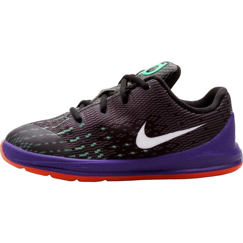 84e598820a02 Amazon.com  Nike KD 8 Preschool Boys Shoe Black Green Shock Hyper Orange  White 5C  Shoes
