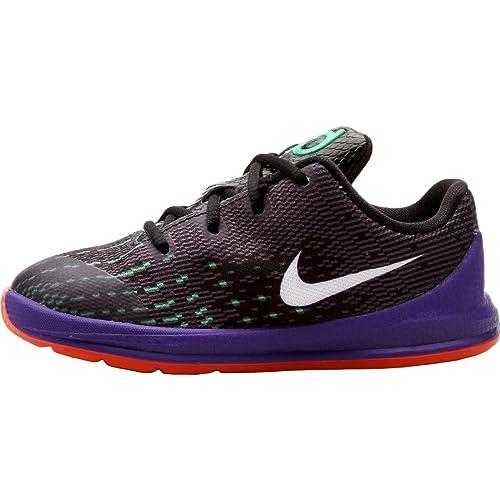 18c74f72245 Nike KD 8 Preschool Boys Shoe Black Green Shock Hyper Orange White 5C   Amazon.ca  Shoes   Handbags