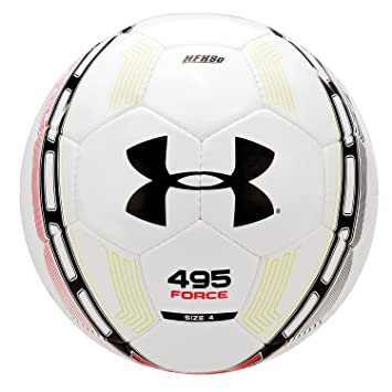 under armour 495 basketball. under armour 495 force soccer ball, size 4, white basketball
