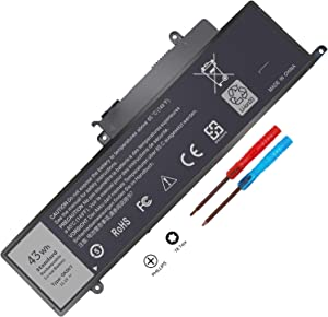 New GK5KY 04K8YH 92NCT Battery Compatible with Dell Inspiron 11 3000 3147 3148 3152 13 7000 7353 7352 7347 7348 7359 7558 7568 Laptop Notebook Battery Fits 4K8YH 092NCT 11.1V 43Wh