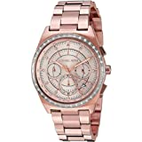 Michael Kors Casual Watch For Women Analog Stainless Steel - Mk6422, Rose Gold Band