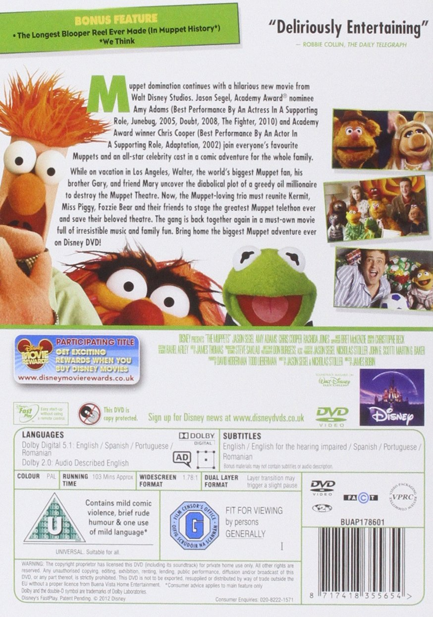Amazon.com: The Muppets Magical Gifts DVD Retail [Import anglais ...