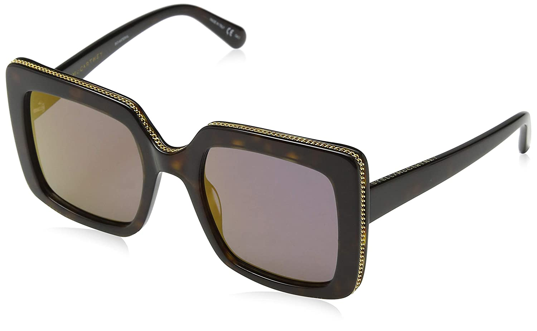 20cfc26a16e Sunglasses Stella McCartney SC 0093 S- 004 AVANA   BRONZE at Amazon Men s  Clothing store