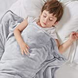 Degrees of Comfort Kids Weighted Blanket with Cover, 1 x Cozyheat Minky Plush, 1 x Coolmax Washable Covers Included | Micro G