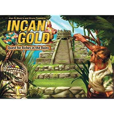 Incan Gold: Quest for Riches in the Ruins: Toys & Games