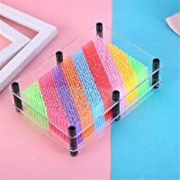 3D Pin Art Toys Classic 3-Dimensional Pin Impression Toys Clone Fingerprint Needle Painting Hand Mold Christmas Gift