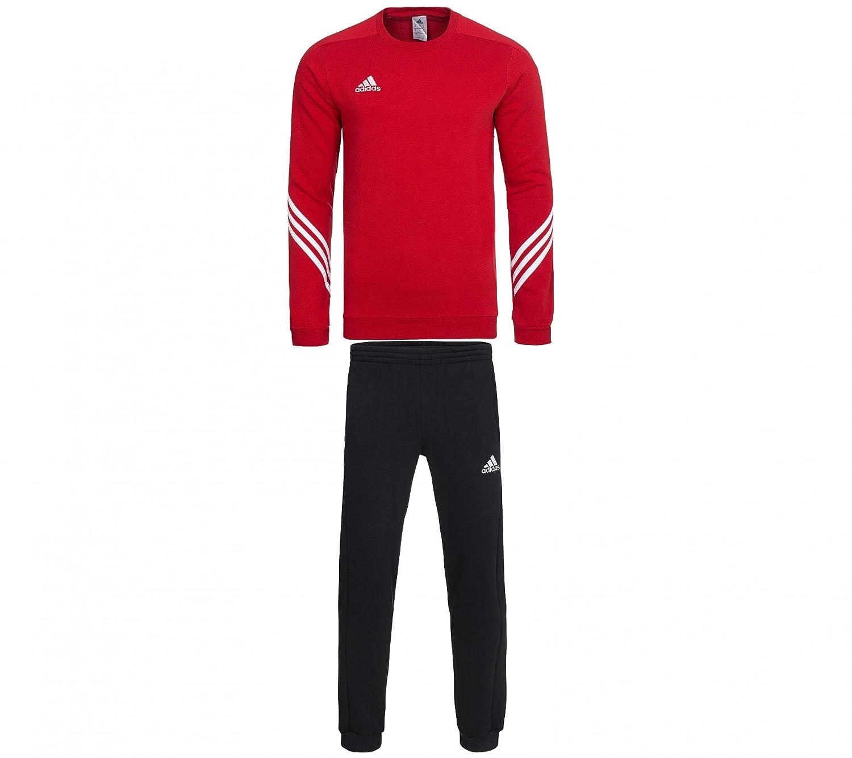 adidas Sereno 14 Survêtement Homme University Red/White/Black ...