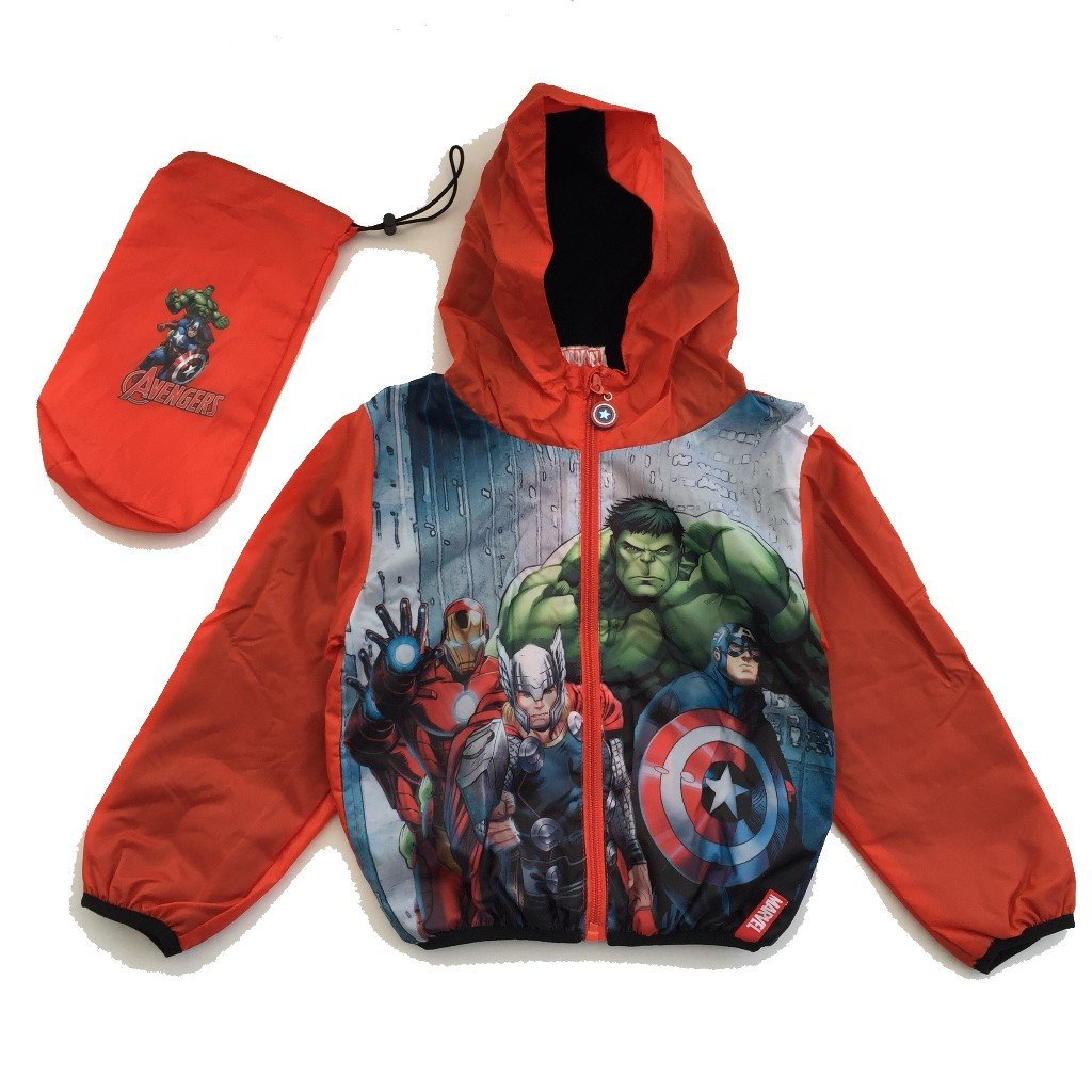 Marvels Avengers Avengers Kids Red and Navy Superhero Wind Cheaters