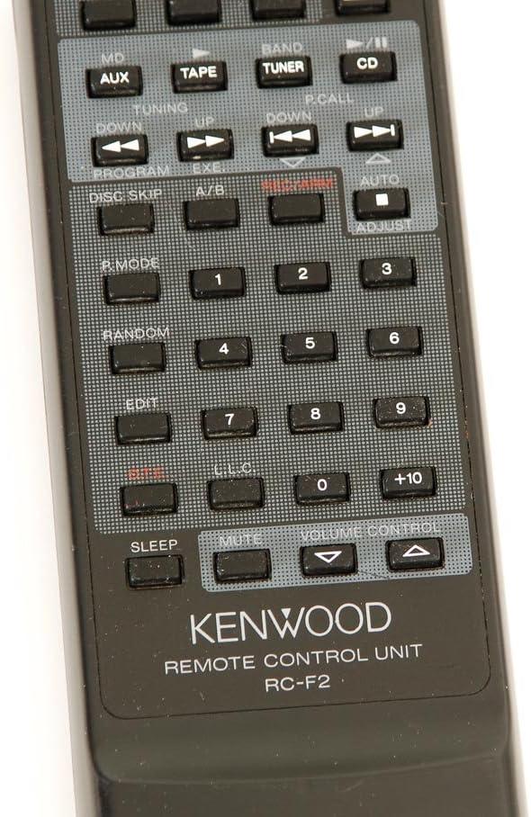 Kenwood Rc F2 Fernbedienung Elektronik