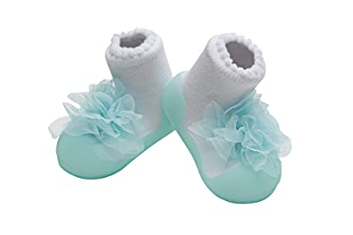 afd14e22d Kleding en accessoires Baby ATTIPAS CUTIE WHITE little shoes infant toddler  first walking socks slippers