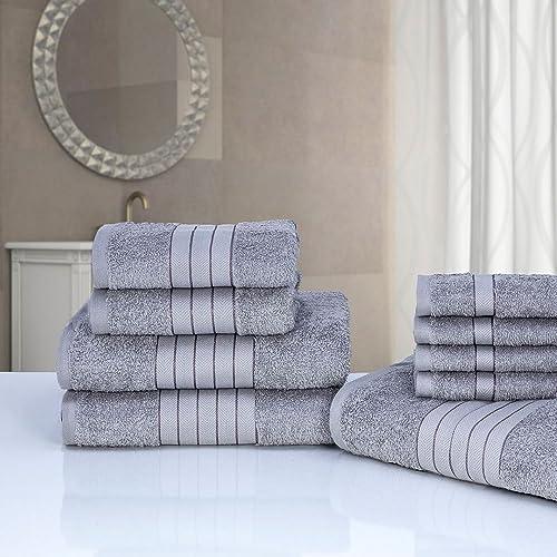 Grey Towel Bale Amazon Co Uk