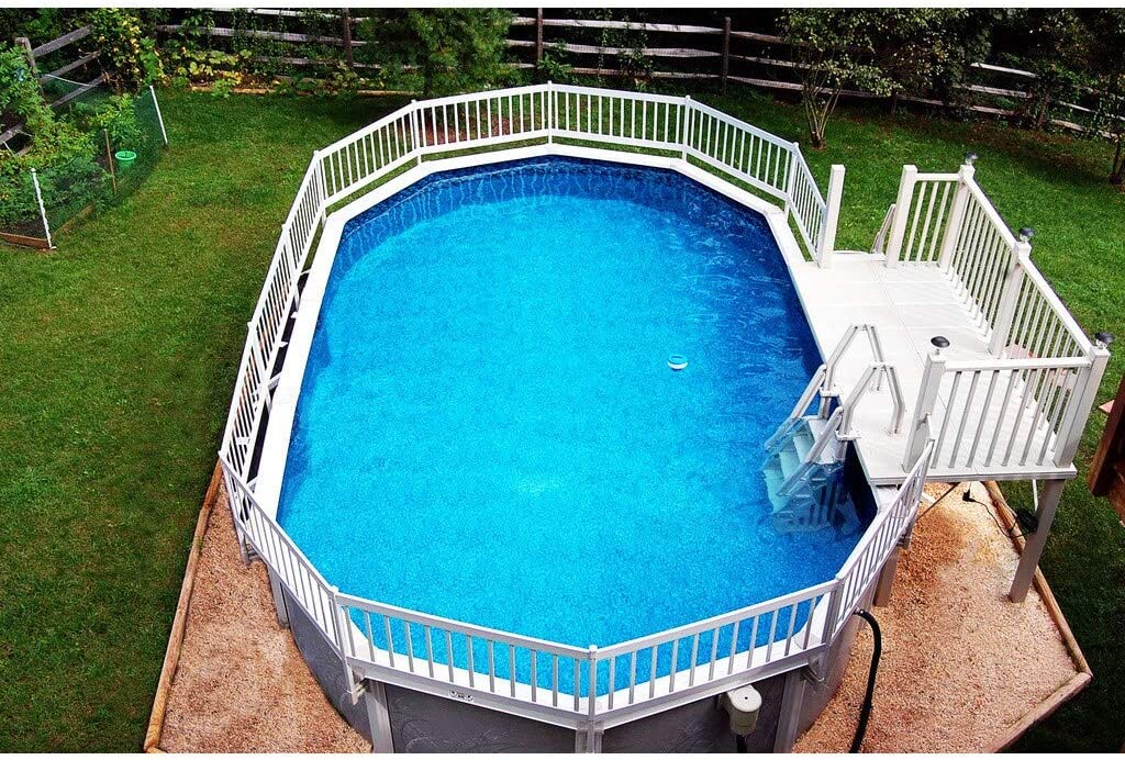 Blue Wave Prime Entry in-Pool Step for Above Ground Pools