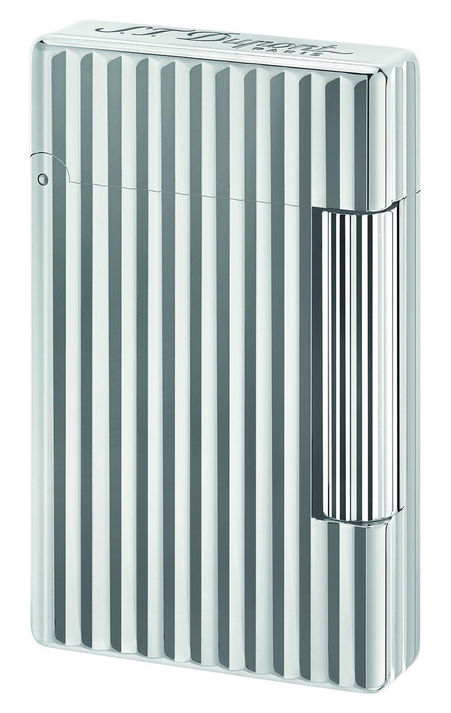 S.T. Dupont ''Initial'' Line White Bronze Finish Flint Lighter 2017 / Grey 020802