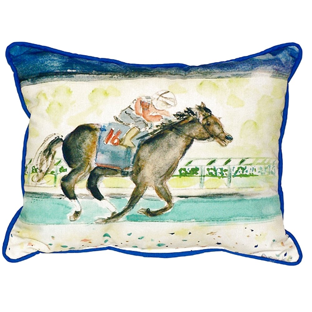 Home Kitchen Bed Pillows Betsy Drake Sn109 Derby Winner Pillow 11 X14