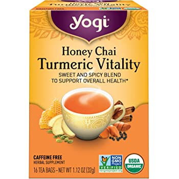 Yogi Spicy And Sweet Turmeric Tea