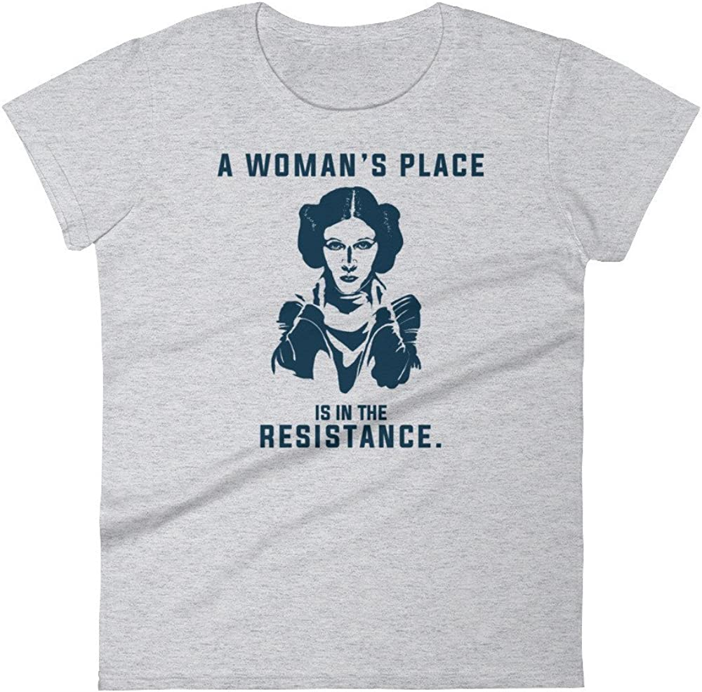 The Resistance Womens Place is in Short Sleeve t-Shirt