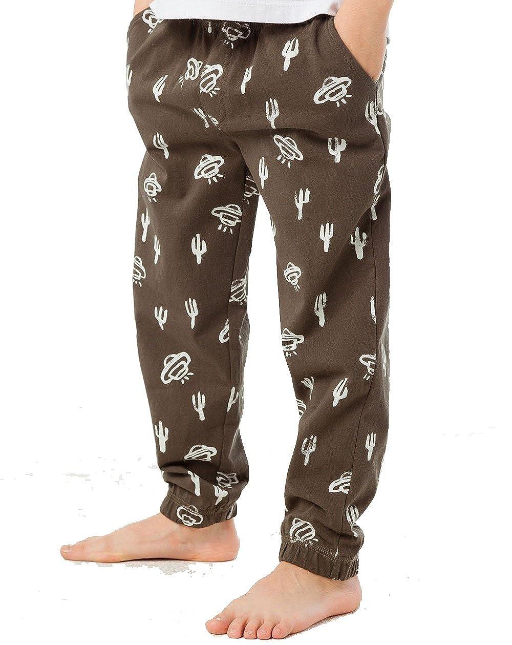 CHASER Little Boys Desert Cacti Lounge Pants