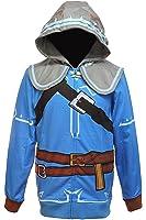 Bioworld Legend of Zelda Breath of The Wild Suit Up Men's Cosplay Hoodie
