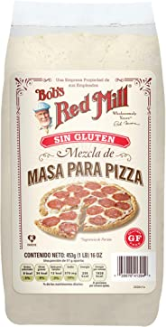 Bobs Red Mill, Base Para Pizza Sin Gluten, 453 Gr.