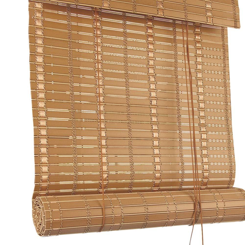 CAIJUN Bambusrollo Raffrollo PVC-Material Wasserdicht Brandschutz Sonnenschutz Draussen Partition Vorhang, Vorhang, Vorhang, 4 Stile, Benutzerdefinierte Größe (Farbe   C, größe   140x180cm) B07PVC3CHF Seitenzug- & Springrollos 39a8b7